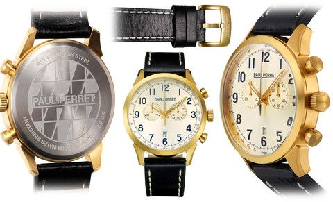 Paul Perret Bosco Swiss Chronograph Mens Watch