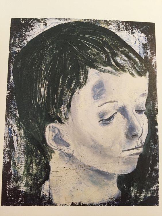 松本竣介 1912-1948 Shunsuke Matsumoto 少年(子供の顔) Boy(Head of a Child) 1943-44