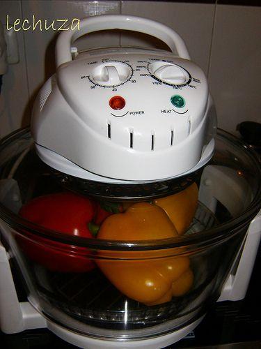 Pimientos asados-en horno