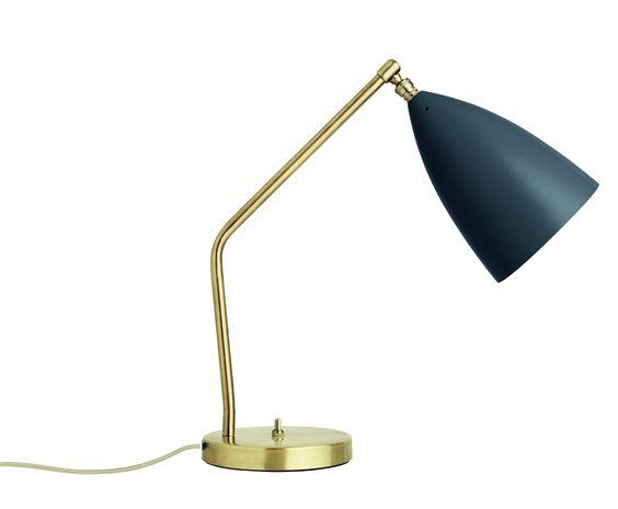 Gubi Gräshoppa Task Table Lamp anthrazit-grau