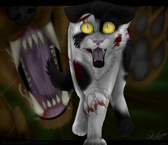 Warriors Cats Into The Wild Movie: RUN SWIFTPAW! (swiftpaws Death Part 1) By