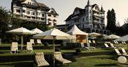 Hotel Park in Weggis direkt am Vierwaldstättersee, Schweiz