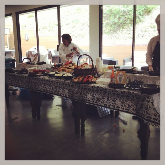 Omelet bar for breakfast in the office!