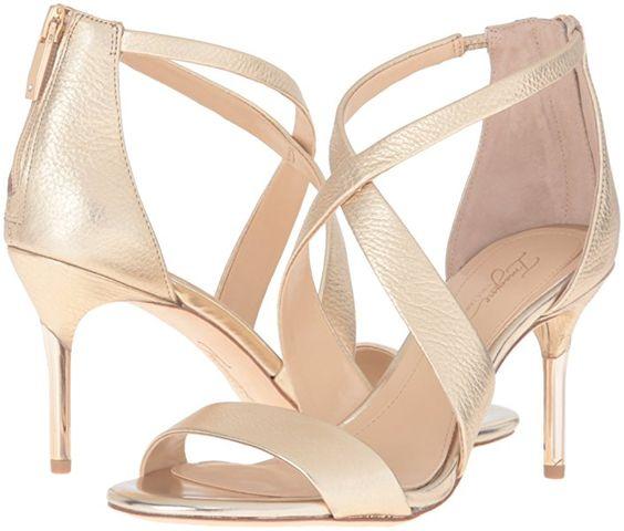 Imagine Vince Camuto Women's Pascal2 Dress Sandal, Soft Gold, 7.5 M US