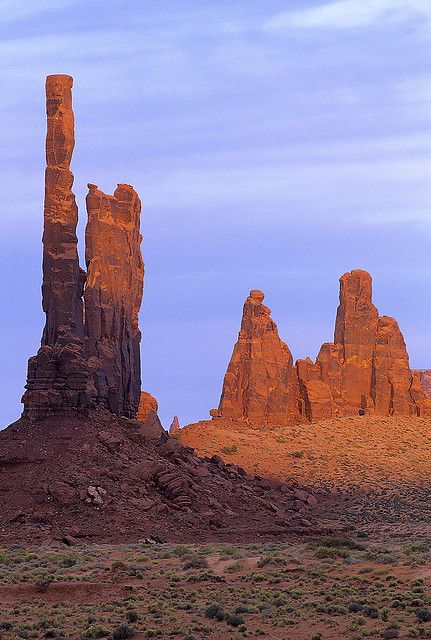 Totem Pole -- Monument Valley, Utah