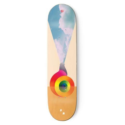Josh Anderson Portals Deck Skateboard Decks Flooring Skateboards
