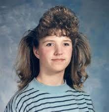 Resultado de imagem para penteados cabelos anos 80