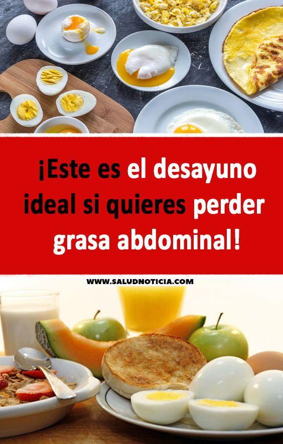 Desayuno perfecto para bajar de peso
