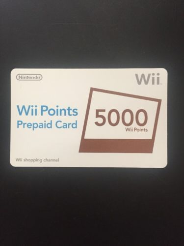 5000 Wii Points Card (KOREAN ONLY) https://t.co/HAGgaONC6f https://t.co/hwCF4YWS1S