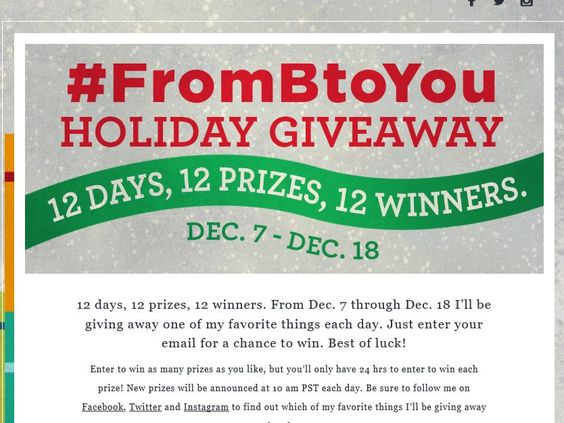 Enter the Bethenny #FromBtoYou Holiday Giveaway Sweepstakes for a chance to win a SuzyB 14kt Yellow Gold Necklace with 108 Round Diamonds!