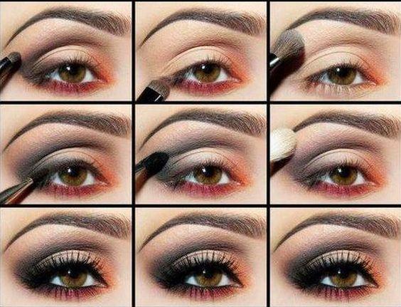 Make Fatal   Como fazer um olhar preto esfumado suave