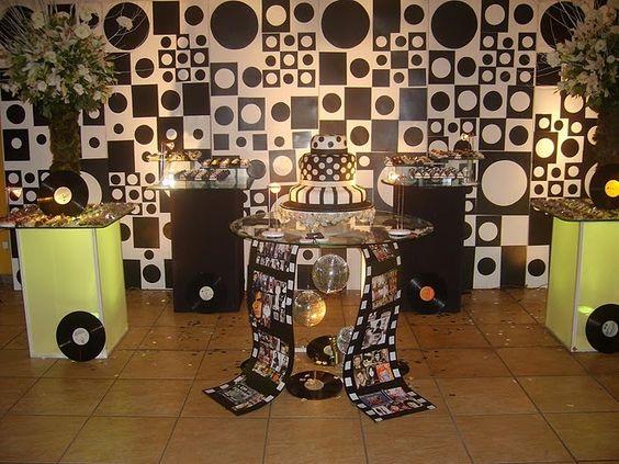 """Sposata!: Festas   Ideias para festa de aniversário inspirada em """"Dancin' Days"""""""