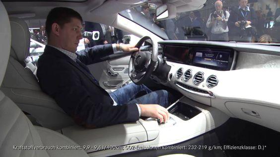 Neues S-Klasse Coupe auf dem Genfer Automobilsalon vorgestellt