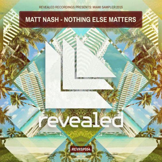 Matt Nash – Nothing Else Matters (single cover art)