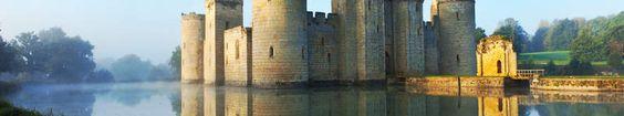 Bodiam Castle dans le Sussex dont la qualité des vins pétillants ne cesse de…