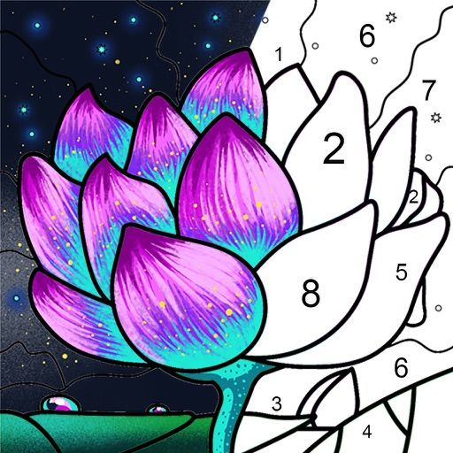 Paint By Number Coloring Games By Dailyinnovation Co Limited Paint By Number Coloring Books Coloring Pages