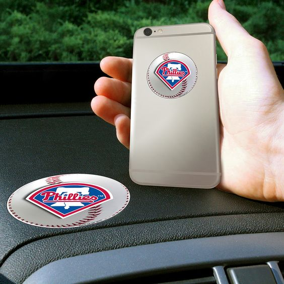 Philadelphia Phillies MLB Get a Grip Cell Phone Grip Accessory