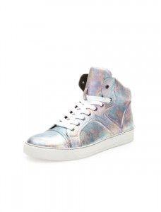 FEN-Lanvin-Pearlized-Leather-High-Top-Sneaker