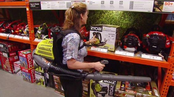 Video Backpack Leaf Blower From Ryobi Is The Most