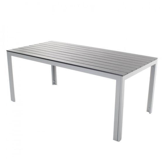Tisch Polywood 180x90 Cm Anthrazit Outdoor Furniture Home Decor