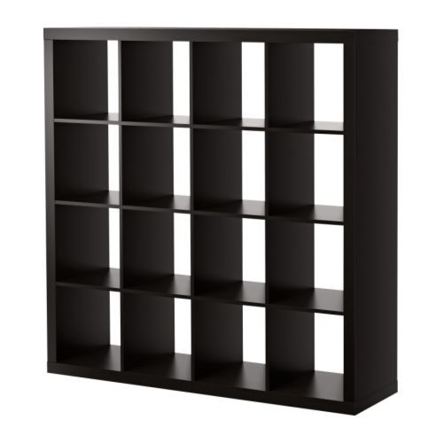 EXPEDIT Shelving unit - black-brown - IKEA