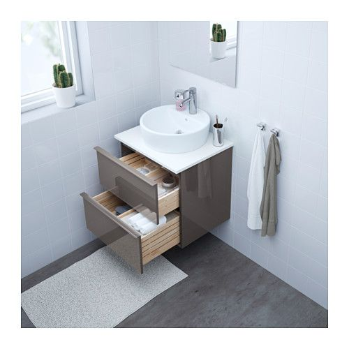 Godmorgon Wsh Stnd W Countertop 45 Wsh Basin White Bamboo Ikea