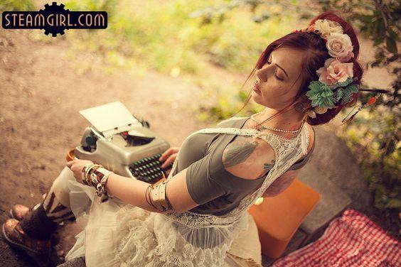 Steam Girl : Photo