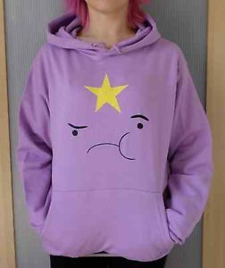 Lumpy-Space-Princess-adventure-time-hoodie-mens-sizes-S-XXL