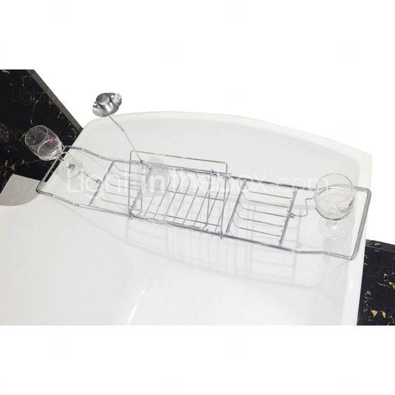 Estantería de Baño / Soporte para Cepillo de Dientes / Cesta de Ducha,Contemporáneo Cromo Montura en Pared 4976615 2016 – $30.99