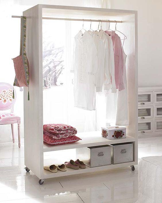 Closet space.: