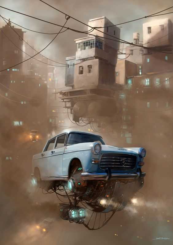 ArtStation - Smog, Alejandro Burdisio