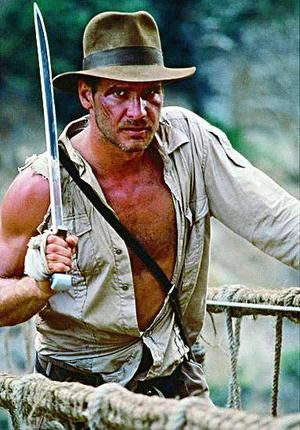 Soft spot in my heart for a young Indy...really for Harrison Ford in general. *sigh*