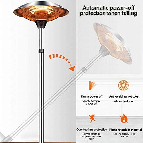 Outdoor Heaters For Patio Electric Only, Outdoor Halogen Heat Lamp