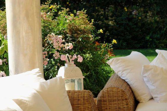 Salotto all'aperto - Giardini
