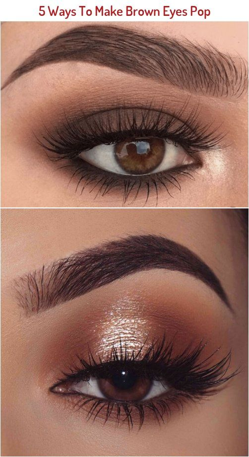 Brown Eyes Are Totally Stunning These 5 Unique Makeup Tricks Using Purple And Blue Eyeliners Will Make Your Bro In 2020 Brown Eyes Pop Blue Eyeliner How To Make Brown