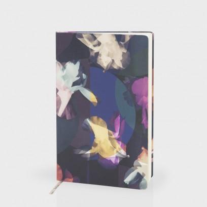 Paul Smith Women's Stationery | Photogram Floral Print Medium Hardcover Notebook