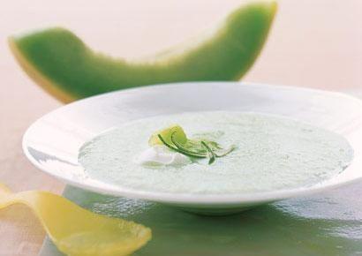 Creamy Honeydew Soup