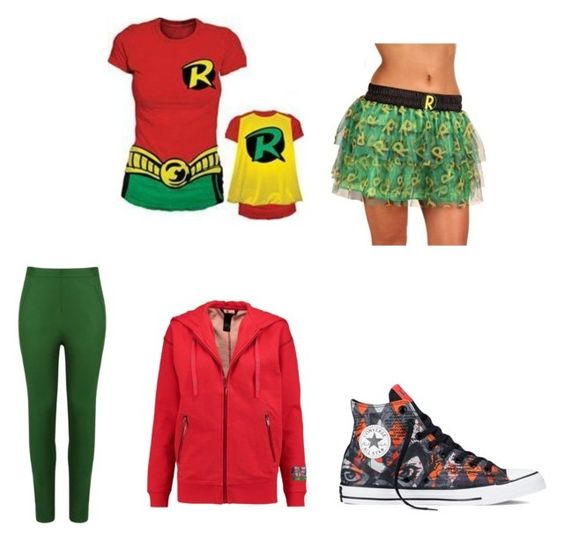 """Robin"" by diana-hamada ❤ liked on Polyvore featuring beauty, Andrea Marques, Marc by Marc Jacobs and Converse"
