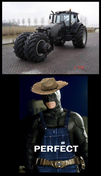 Maldito Batman campesino..