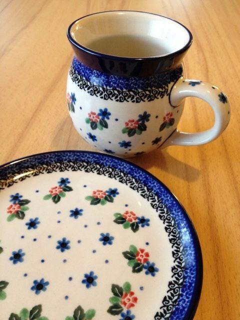 Ready for a breakfast :) Polish pottery