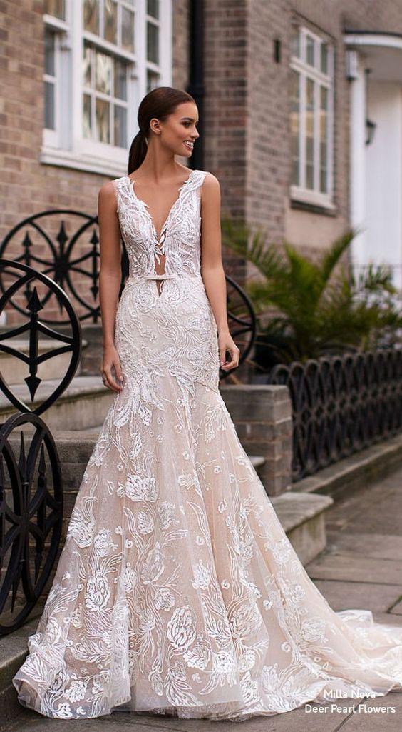 Milla Nova Blooming London Wedding Dresses 2019