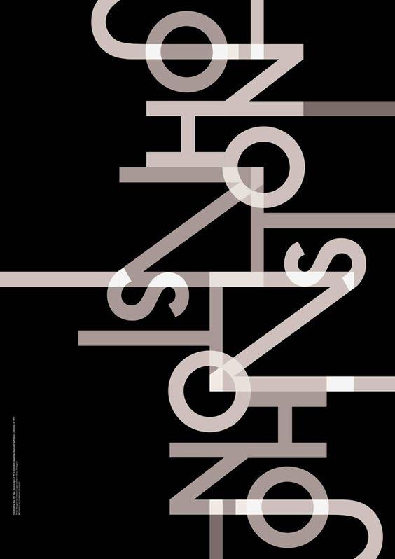 Pentagram | Transport for London | Transported by Design: Johnston 100 Poster