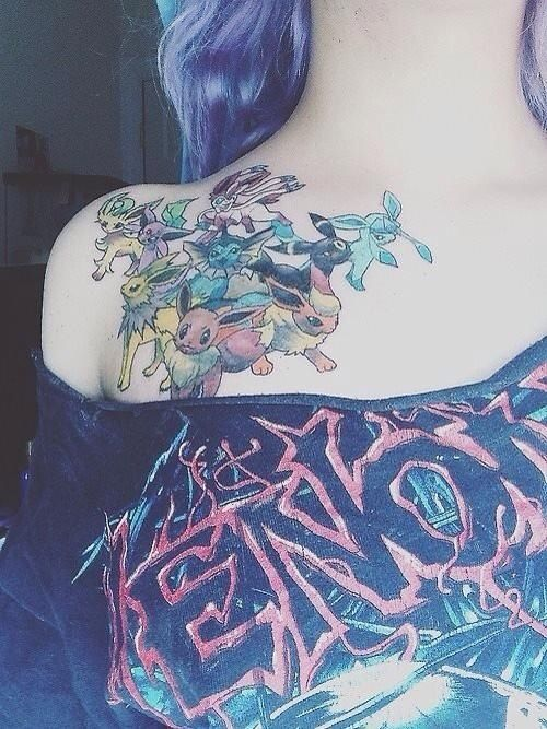 eevee tattoo - photo #14
