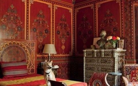 moroccan christmas trees | Things to Consider for Moroccan Bedroom Decor : Great Red Moroccan ...