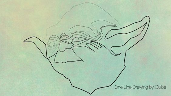 Illustration: One Line Drawing by Quibe