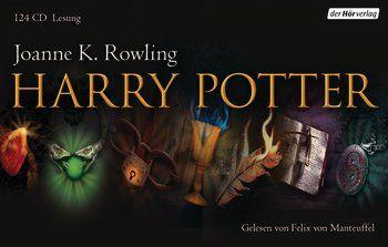 Der größte Bestseller aller Zeiten in einer faszinierenden, neuen Komplettlesung. Mit Felix von Manteuffel wird Harry Potter noch einmal zu einem ganz eigenen Hörerlebnis, bei ihm entdecken wir den Kosmos der Figuren von einer anderen Seite. Dem literarischen Stellenwert und der feinen Komik in Rowlings Texten gibt der Grimme-Preisträger einen neuen Hörraum. Enthält alle sieben Harry-Potter-Bände.