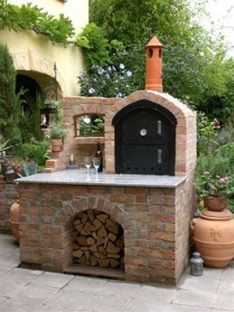 Ramster´s Holzbackofen - Holzbackofen Flammkuchenofen und - pizzaofen mit grill