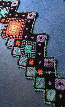 farbenfrohe Stola Frida - auch für Anfänger