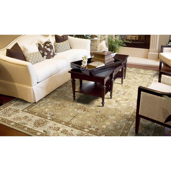 Kaleen Rugs Anabelle Camel Hand-tufted Area Rug