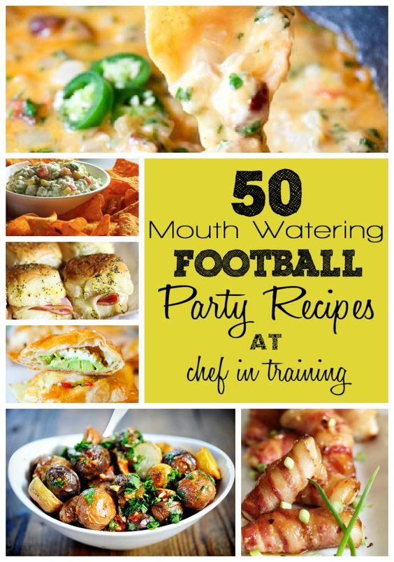50 Football Party Recipes